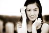 Amber (Koyang's Lens) Tags: portrait monochrome beauty amber eyes soft philippines frame ganda filipina iloreta koyangspix