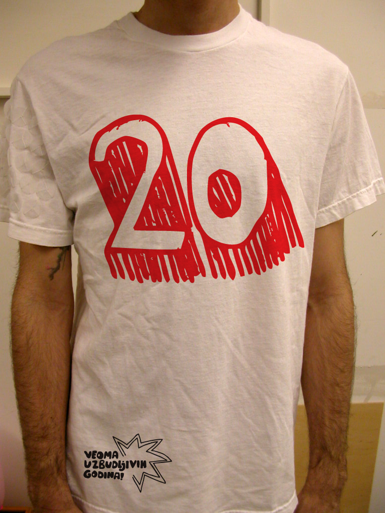 20 years of B92 - 20 T-shirts collection 2009.