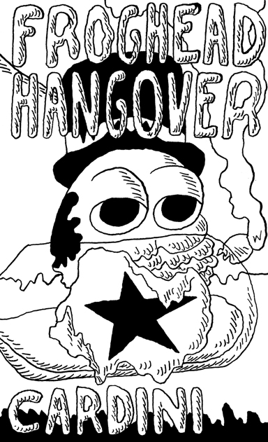 Froghead Hangover Front Cover