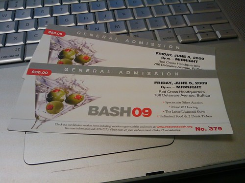 Bash09 tonight. - less crazy this year?