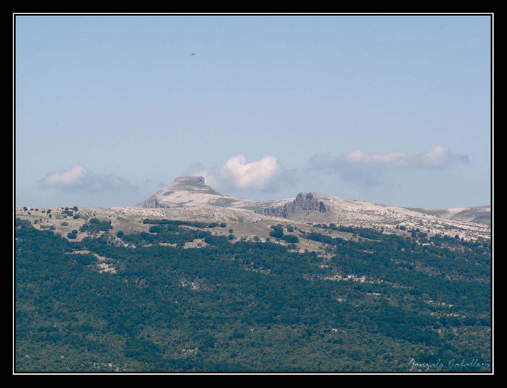 San Donato desde la cima del Mortxe