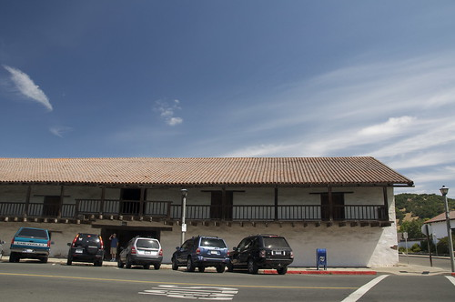 Across from the revolt site, Vallejos barracks still look the same. Well, except for the SUVs.