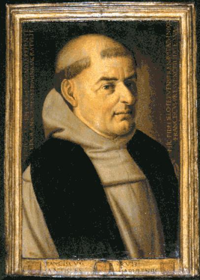 Retrato de Fray Francisco Ruiz. Retrato atribuido a Fernando del Rincón. Instituto de Valencia de Don Juan