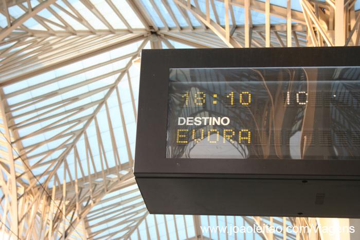 Comboio Lisboa Evora