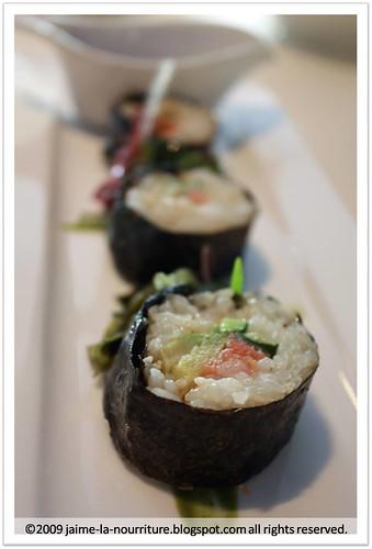 7atenine - Vegetarian Sushi