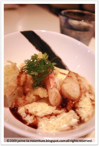 7atenine - Saffron Seafood Rissotto