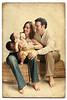 Luis, Sandra and kids (irfan cheema...) Tags: family texture kids babies irfancheema 'familygetty2010'
