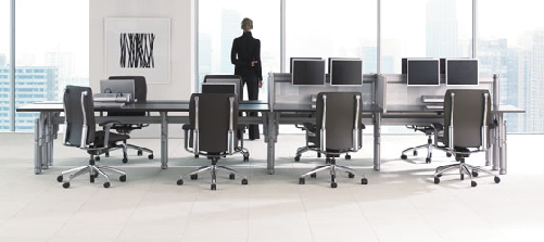 big table desking = benching?