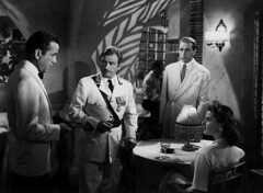 humphrey bogart, claude rains, paul henried & ingrid bergman - casablanca 1943 (movies&movies2) Tags: casablanca 1942 humphreybogart ingridbergman classicmovie michaelcurtiz classiccinema cinemalasuperlativ claudereins paulpenried