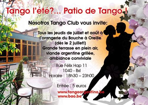 Nosotros presents: Patio de tango