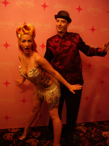 Melody Mangler at the Burlesque Hall  of Fame weekender