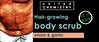 Study for hair-growing body scrub