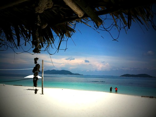 View from Alang's Bar, Rawa Island, Malaysia
