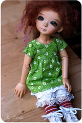 (meike) Tags: green garden doll gloomy coco tiny bjd resin tanned tamsyn latidoll lati gronup