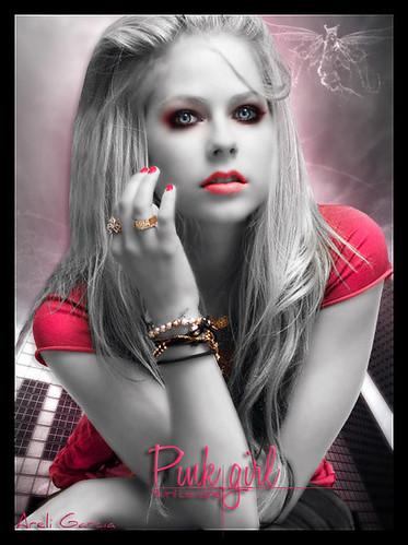 Avril Lavigne Pink. Avril Lavigne (Pink Girl)