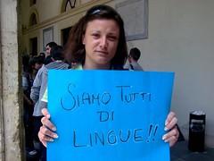 Maura Ricciardi (Lingue) (Redazione Step1) Tags: universit catania studenti lingue sostegnobizzarro