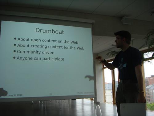Mozilla's Drumbeat