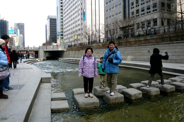首爾 清溪川, Cheonggyecheon Seoul
