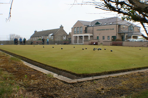 Lawn Bowls at Stromness Golf Club