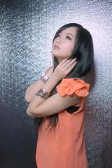 DSC03272 (rickytanghkg) Tags: pink portrait orange woman white black colour girl lady model chinese picnik