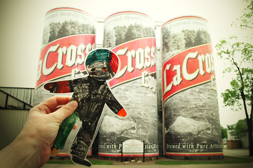 flat stanley tours the driftless region. outtakes at the city brewery. I.