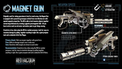 Red Faction: Armageddon Weapons Guide