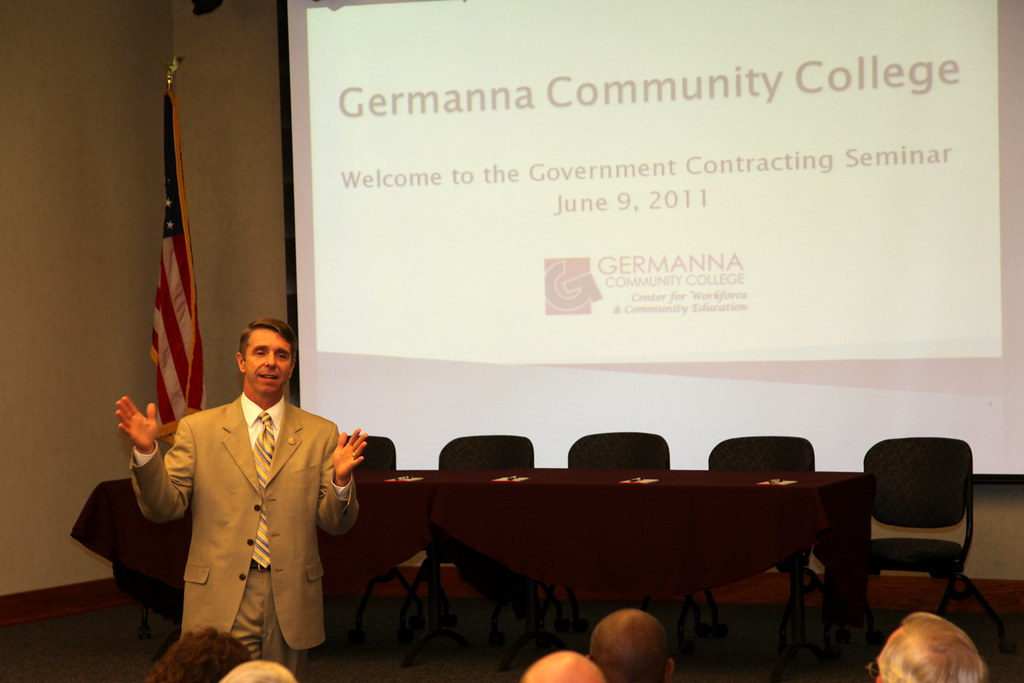 U.S. Rep. Rob Wittman delivers keynote speech at GCC Government Contracting Seminar