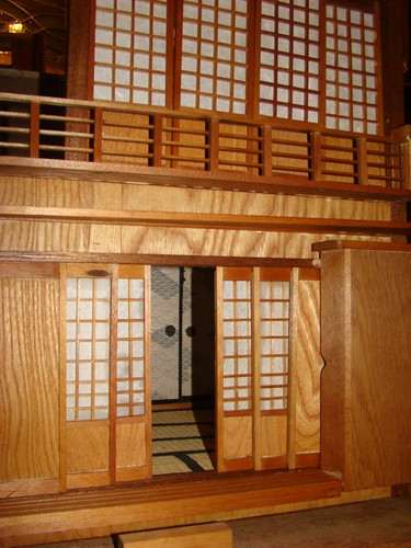 japanese dollhouse project front facade
