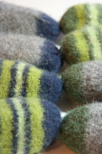 Felted Christmas Slippers