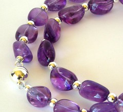 Amethyst (with silver)