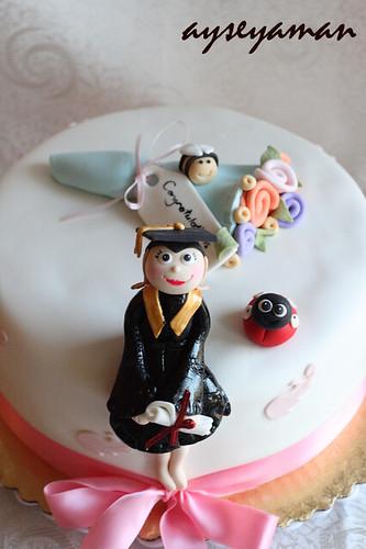 "Mezuniyet Pastasi ""Graduation Cake"""