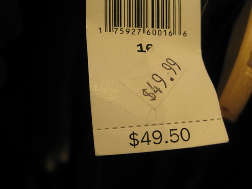 fail discount tag