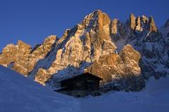 La Baita Segantini (Max Opp) Tags: winter mountain snow pale alpinismo turismo montagna rolle baita sanmartino segantini predazzo escursioni cimon venegia juribello