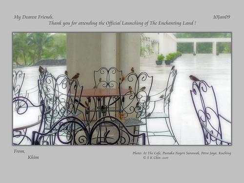 你拍攝的 Khim's Exhibition TQ card。