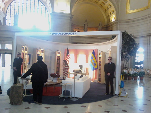 Ikea Oval Office Display @ Union Station