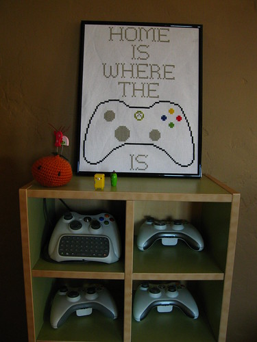 Controller shelf detail