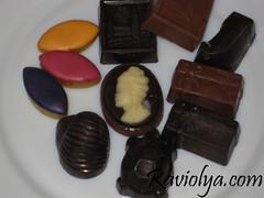 Фото шоколадных конфет
