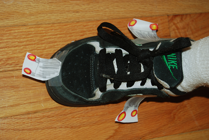 Jet Pack Shoes