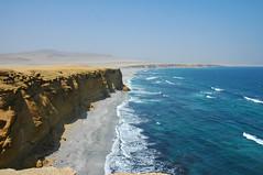Peru (The Hoseman.) Tags: costa peru del landscape coast desert pacific shoreline paisaje paisagem cliffs shore coastline desierto pacfico ica deserto paracas falsias acantilados