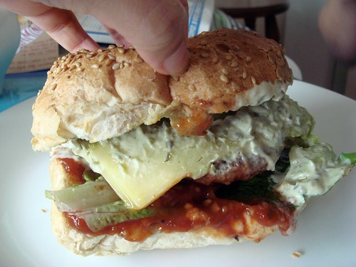 Lamb burger@Grill'd
