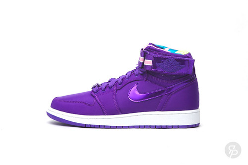 Girls Air Jordan 1 High Strap