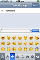 iPhone emoticons - Emoji