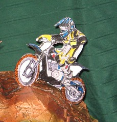 Dirtbike Rider Cake (EForkey (formerly EB Cakes)) Tags: cake dirtbike sugarart toccoaga dirtbikecake ebcakes