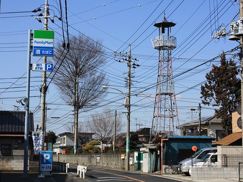 上新井の火の見櫓
