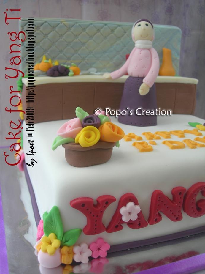 Cake for Yang ti