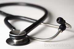 Doctor's stethoscope. (Brownstock) Tags: heart stock medical doctor medicine healthcare stethoscope brownstock
