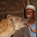 Feed the hyaena: that's mine