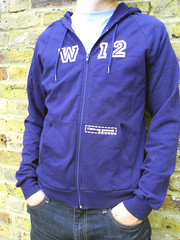 W12 hoody side on (i love my postcode) Tags: london hoodie postcode w12