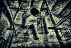 pipes (ill-padrino www.matthiashaker.com) Tags: old urban abandoned germany deutschland dresden alt decay sony saxony ruin sigma ruine forgotten urbanexploration sachsen ddr 300 alpha forsaken 1020mm exploration tumbledown 1020 derelict dri hdr gdr decayed ramshackle dilapidated scruffy hdri rundown ruined verlassen urbex a300 vergessen verfallen uebigau