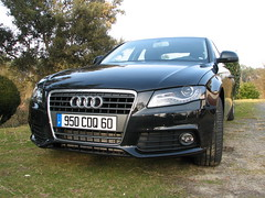 Audi A4  -  2.0 TDI   Automatic (Mic V.) Tags: auto france car plaque tdi french automobile tag transport plate voiture german automatic vehicle 20 a4 audi registration licence vehicule landes immatriculation